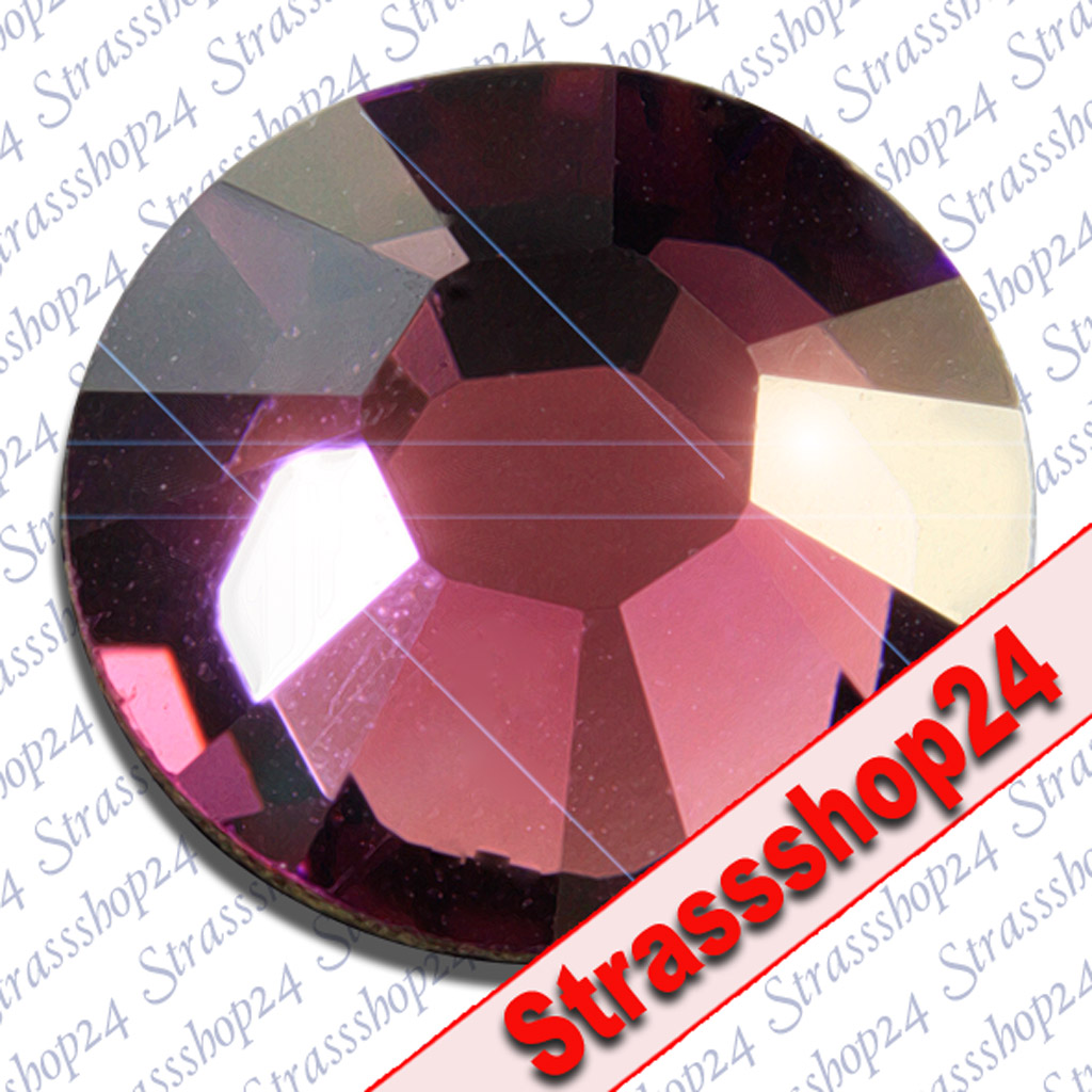 Strass Steine Hotfix Swarovski® AMETHYST SS6 Ø2,0mm