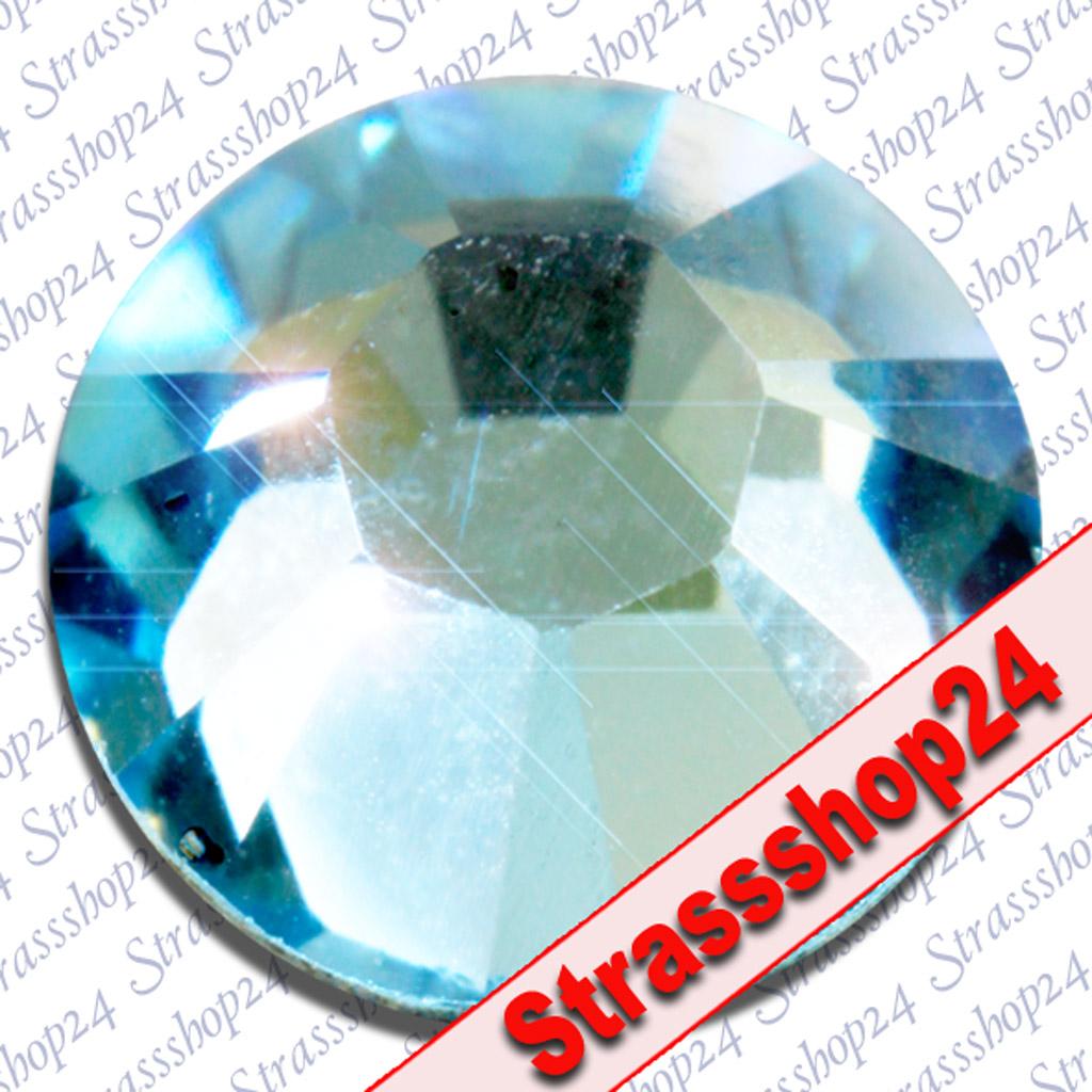 Strass Steine No Hotfix Swarovski® AQUAMARIN SS8 Ø2,4mm