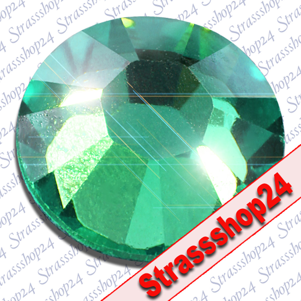 Strass Steine No Hotfix Swarovski® BLUE ZIRCON SS10 Ø2,8mm