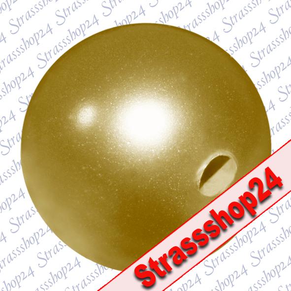 Crystal Pearls Swarovski® BRIGHT GOLD Ø12mm