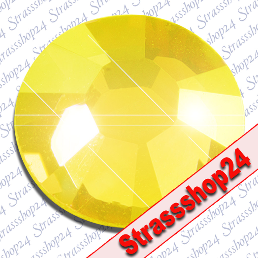 Strass Steine Hotfix Swarovski® YELLOW OPAL SS6 Ø2,0mm