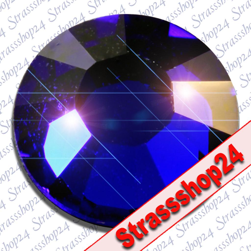 Strass Steine Hotfix Swarovski® COBALT SS34 Ø7,2mm