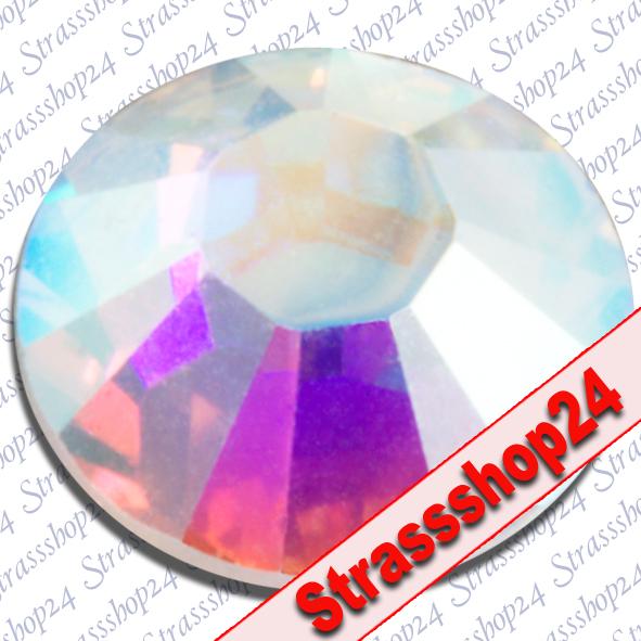 Strass Steine Hotfix Swarovski® CRYSTAL AB SS3 Ø1,4mm