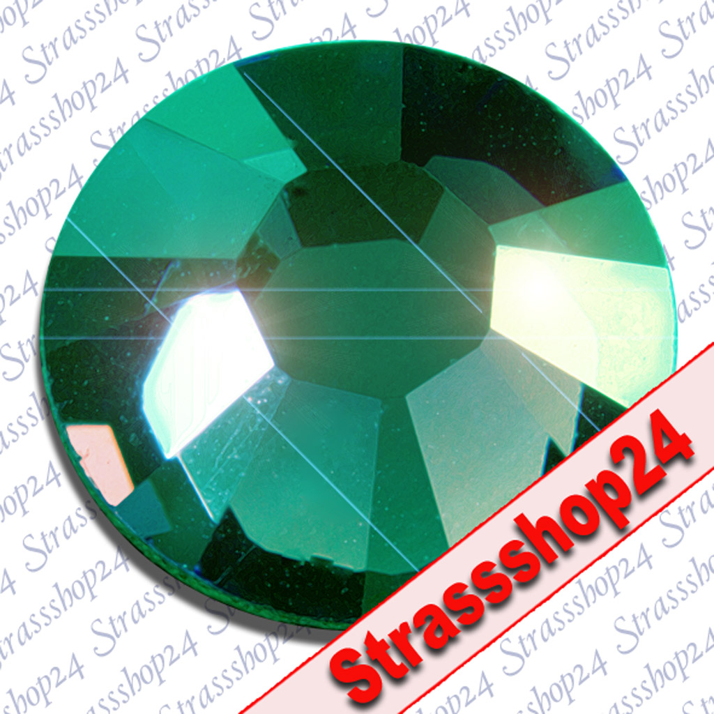 Strass Steine No Hotfix Swarovski® EMERALD SS16 Ø3,9mm