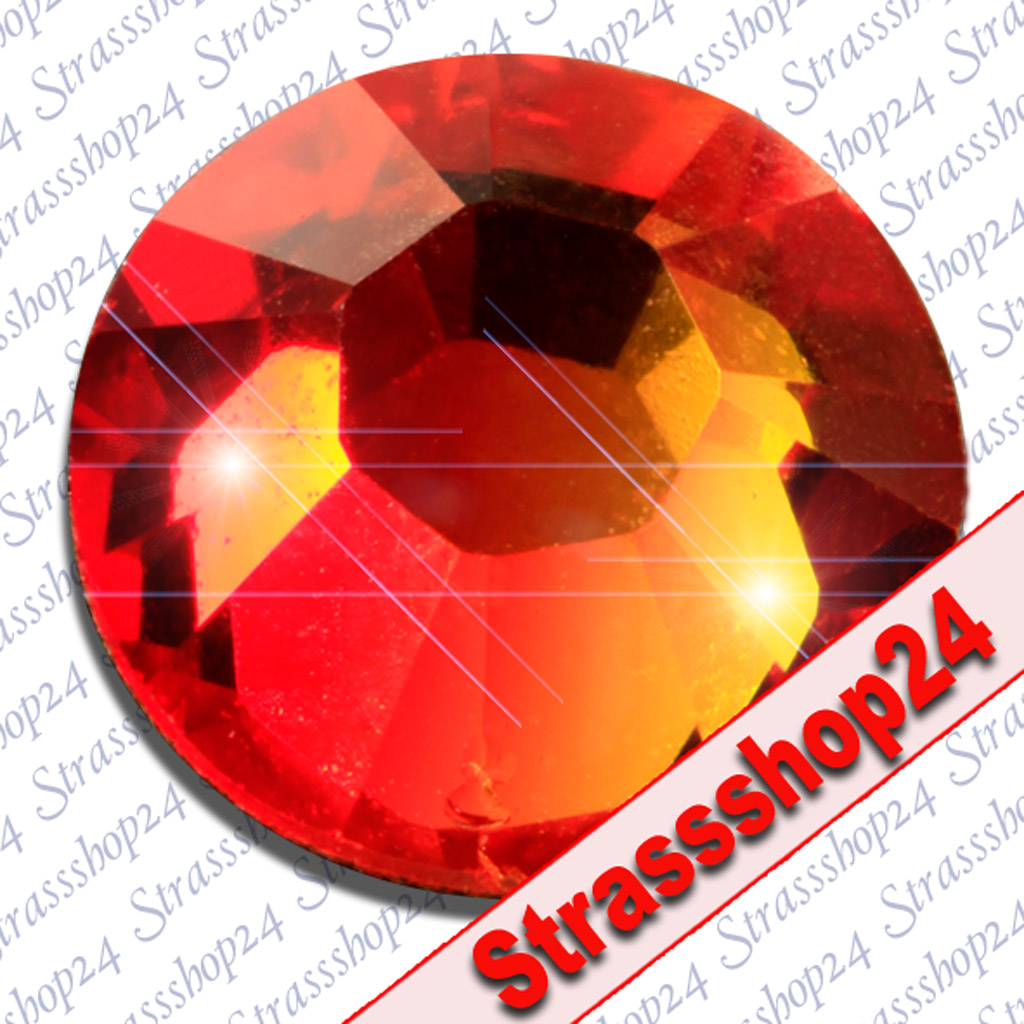 Strass Steine Hotfix Swarovski® FIREOPAL SS34 Ø7,2mm