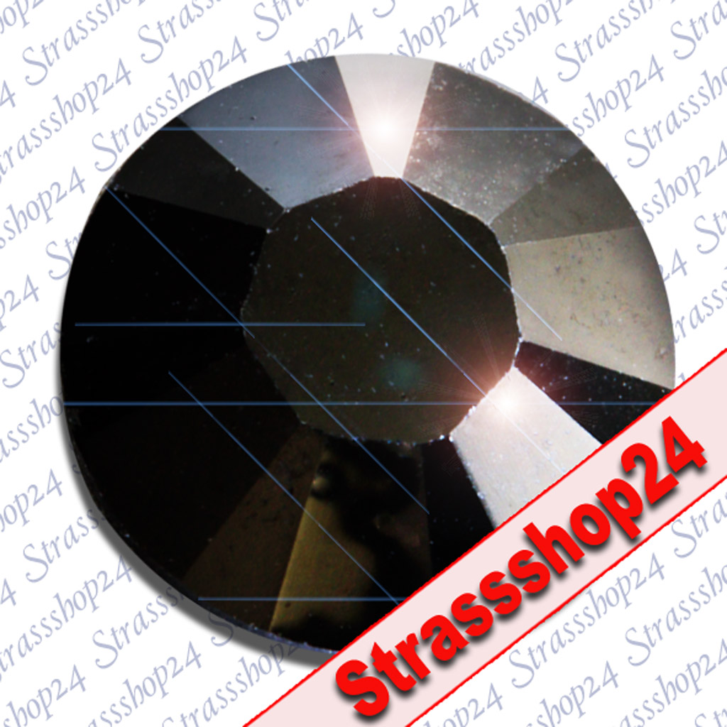 Strass Steine No Hotfix Swarovski® JET SS12 Ø3,2mm