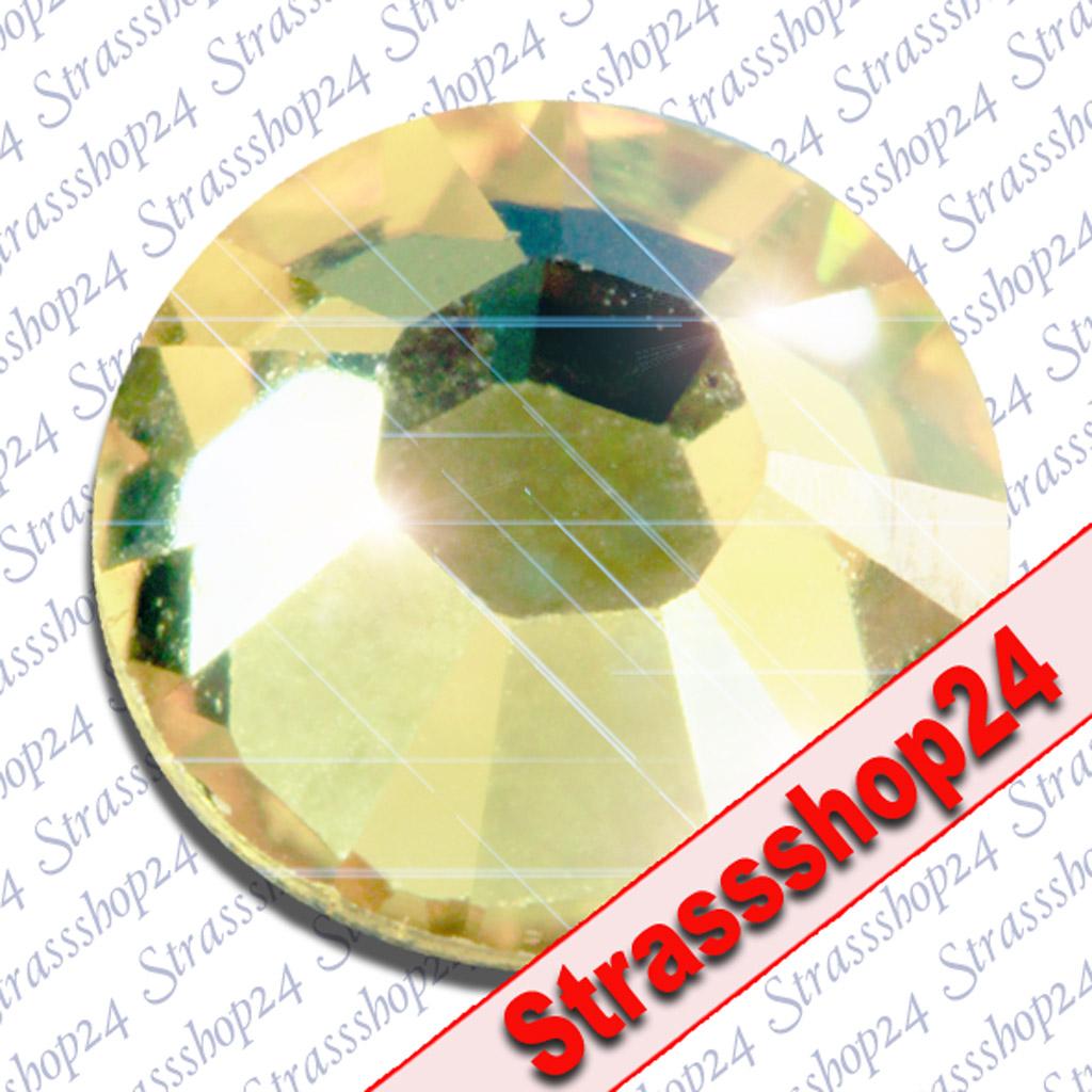 Strass Steine No Hotfix Swarovsk®i JONQUIL SS3 Ø1,4mm