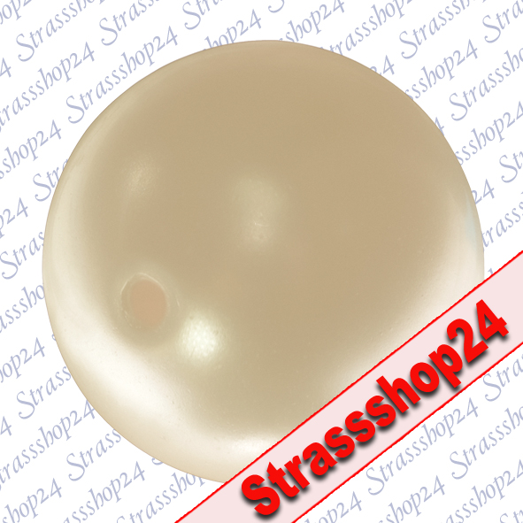 SWAROVSKI ELEMENTS Crystal LIGHT GOLD Pearl 10 mm (large hole)