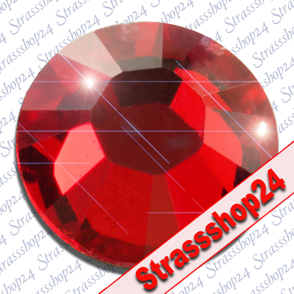 Strass Steine No Hotfix Swarovski® LIGHT SIAM SS6 Ø2,0mm