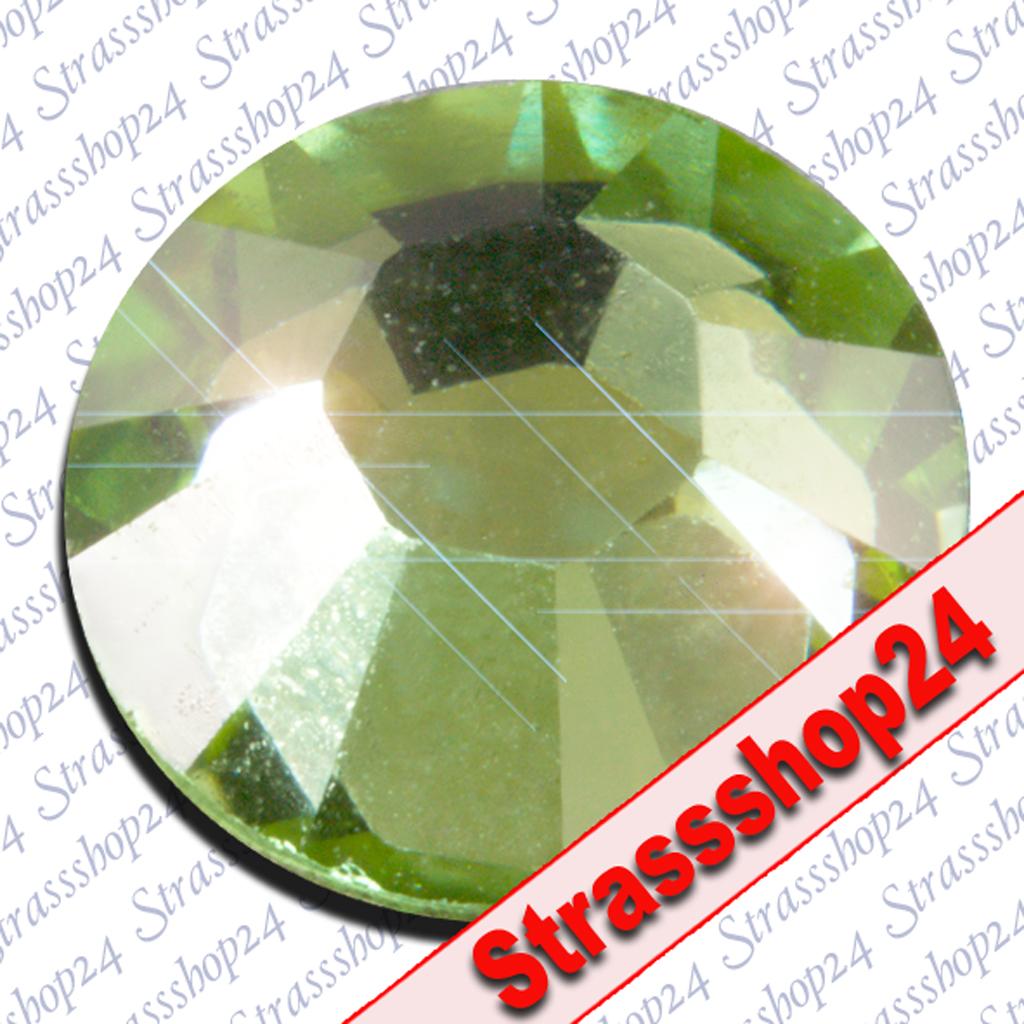 Strass Steine No Hotfix Swarovski® PERIDOT SS8 Ø2,4mm