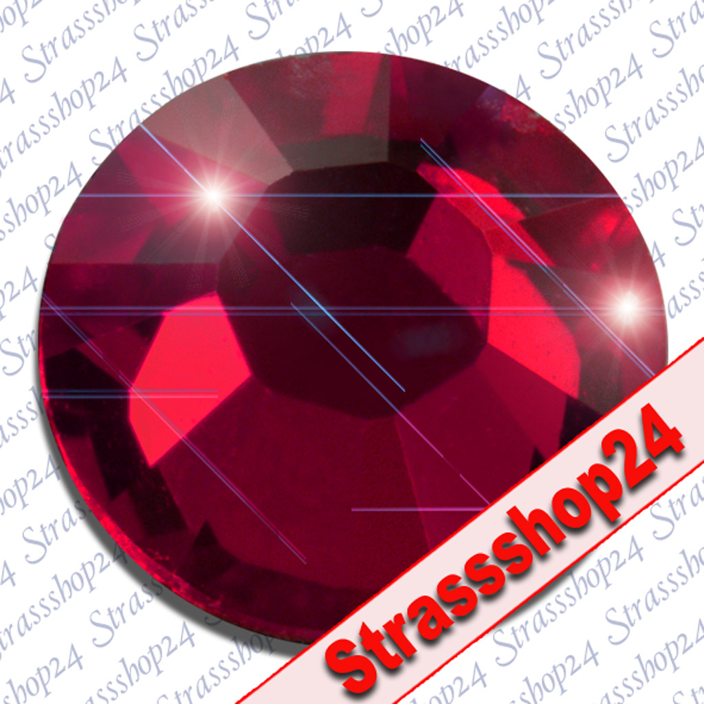 Strass Steine No Hotfix Swarovski® RUBY SS16 Ø3,9mm