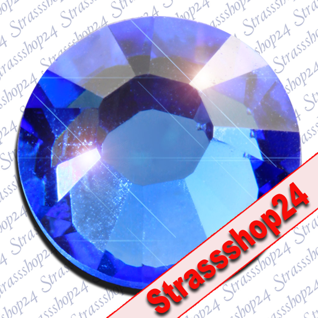 Strass Steine Hotfix Swarovski® SAPHIRE SS30 Ø6,4mm