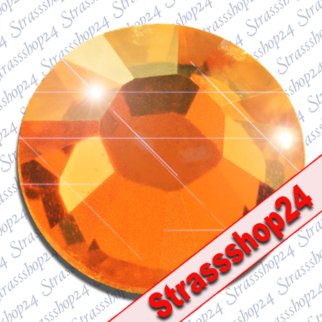 Strass Steine No Hotfix Swarovski® SUN SS30 Ø6,4mm