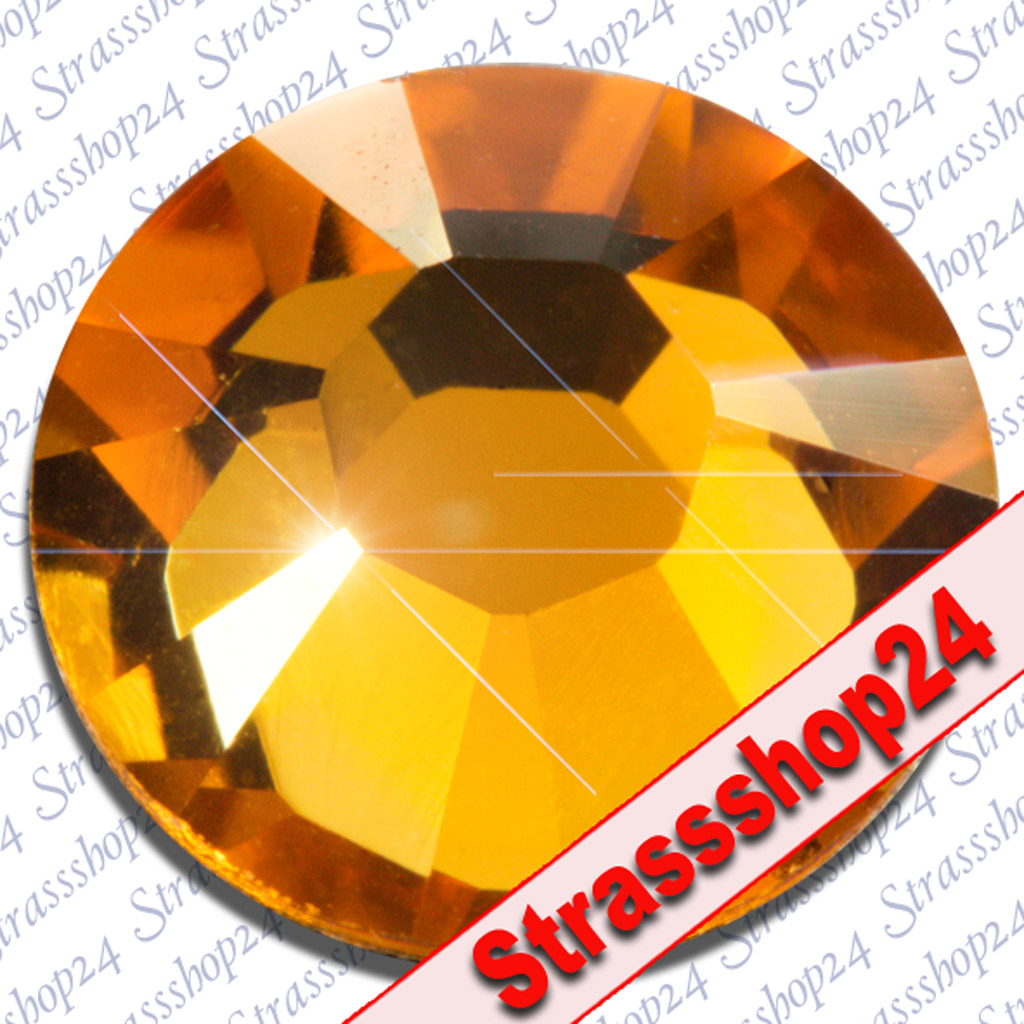 Strass Steine Hotfix Swarovski® TOPAZ SS34 Ø7,2mm