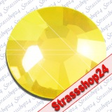 Strass Steine Hotfix Swarovski® YELLOW OPAL SS12 Ø3,2mm