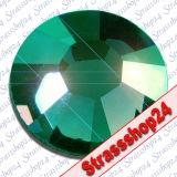 Strass Steine Hotfix PRECIOSA Crystals EMERALD SS30 Ø6,4mm