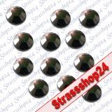 Strass Steine Hotfix Rhinestones JET SS6 Ø2mm