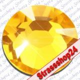 Strass Steine Hotfix PRECIOSA Crystals LIGHT TOPAZ SS16 Ø3,9mm