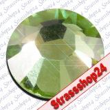 Strass Steine Hotfix PRECIOSA Crystals PERIDOT SS16 Ø3,9mm
