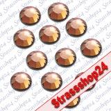 Strass Steine Hotfix Rhinestones SMOKED TOPAZ SS20 Ø5mm