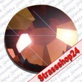 Strass Steine Hotfix PRECIOSA Crystals SMOKED TOPAZ SS8 Ø2,4mm