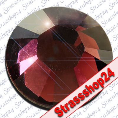 Strass Steine No Hotfix Swarovski® BURGUNDY SS10 Ø2,8mm