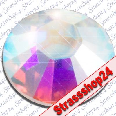 Strass Steine Hotfix Swarovski® CRYSTAL AB SS34 Ø7,2mm