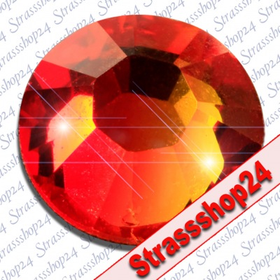 Strass Steine Hotfix Swarovski® FIREOPAL SS30 Ø6,4mm
