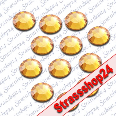 Strass Steine Hotfix Rhinestones GOLD SS20 Ø5mm 3600 Stück