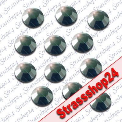 Strass Steine Hotfix Rhinestones HEMATITE SS20 Ø5mm