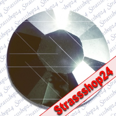 Strass Steine Hotfix Swarovski® JET HEMATITE SS6 Ø2,0mm