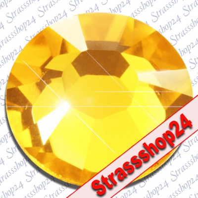 Strass Steine No Hotfix Swarovski® LIGHT TOPAZ SS34 Ø7,2mm