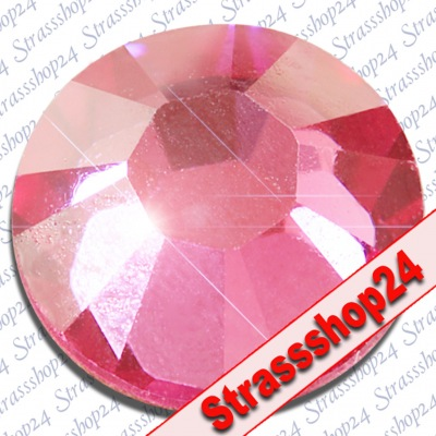 Strass Steine No Hotfix Swarovski® ROSE SS8 Ø2,4mm