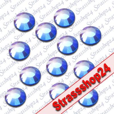 Strass Steine Hotfix Rhinestones SAPHIRE SS6 Ø2mm