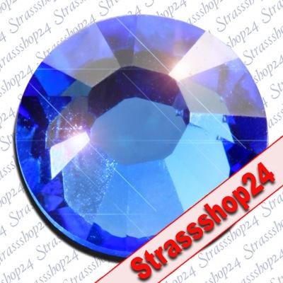 Strass Steine No Hotfix Swarovski® SAPHIRE SS20 Ø4,7mm