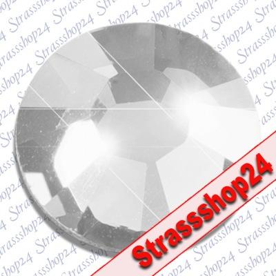 Strass Steine No Hotfix Swarovski® SILVER SHADE SS3 Ø1,4mm