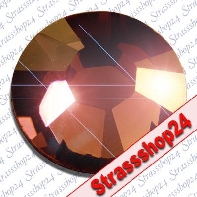 Strass Steine Hotfix Swarovski® SMOKED TOPAZ SS16 Ø3,9mm
